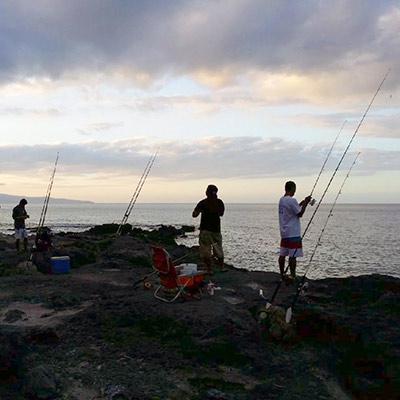 808 fishing tale maui s premiere shoreline fishing company for Local knowledge fishing